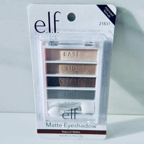 ELF Other - 💥5/$20 New ELF Natural Matte Flawless Eyeshadow